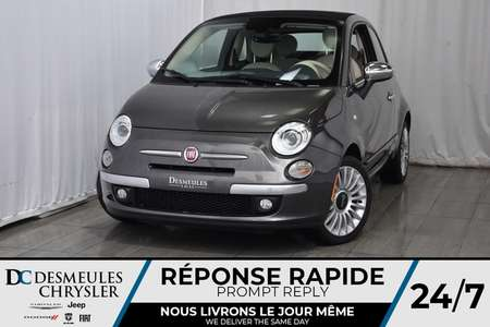 2017 Fiat 500c Lounge for Sale  - DC-71469  - Desmeules Chrysler