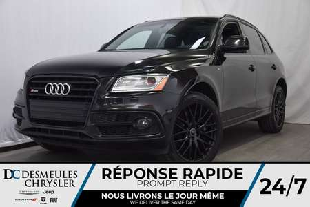 2016 Audi SQ5 3.0T TECHNIK *QUATTRO * V6 SUPERCHARGED for Sale  - DC-A0616  - Desmeules Chrysler