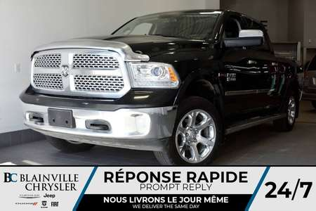 2016 Ram 1500 LARAMIE ECODIESEL  + TOIT OUVRANT + VOLA 4WD Crew for Sale  - BC-P0951  - Desmeules Chrysler