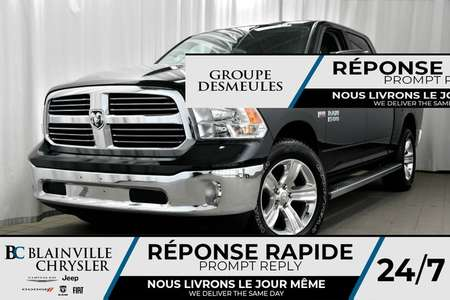 2017 Ram 1500 CREW CAB + BOITE 5'7' + UCONNECT + NAV + HEMI *WOW for Sale  - BC-70752  - Desmeules Chrysler