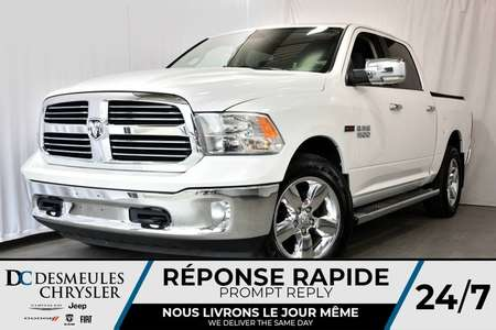 2016 Ram 1500 BIG HORN + CREW CAB + BOITE 5'7 + DIESEL 4WD for Sale  - DC-70638A  - Desmeules Chrysler