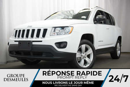 2013 Jeep Compass NORTH + 4X4 + MAGS + FOG 4WD for Sale  - BC-P1009  - Desmeules Chrysler