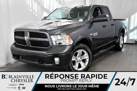 2017 Ram 1500 OUTDOORSMAN + QUAD CAB + TOW PACKAGE (3. for Sale  - BC-70578  - Desmeules Chrysler