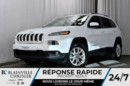 2018 Jeep Cherokee DÉMO + NORTH+ 9 195KM + 4X4 + **WOW** for Sale  - BC-80044  - Blainville Chrysler