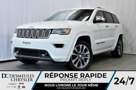 2018 Jeep Grand Cherokee OVERLAND*4X4*SUSPENSION À AIR*CUIR*TOIT for Sale  - DC-A0857  - Desmeules Chrysler
