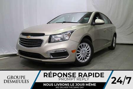 2015 Chevrolet Cruze 1LT * CAM DE RECUL * ÉCONOMIQUE * for Sale  - DC-81035C  - Desmeules Chrysler