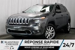 2018 Jeep Cherokee DÉMO 8 500 KM +LIMITED + * RABAIS INCROYABLE !  - BC-80047  - Desmeules Chrysler
