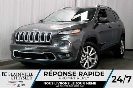 2018 Jeep Cherokee DÉMO 8 500 KM +Limited + * Rabais Incroyabl for Sale  - BCDL-80047  - Blainville Chrysler
