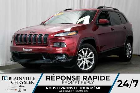 2018 Jeep Cherokee ***DÉMO NORTH ÉDITION SPÉCIAL + 9 775KM for Sale  - BC-80045  - Blainville Chrysler