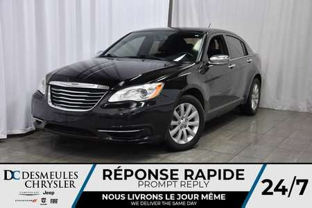2014 Chrysler 200 LIMITED * CUIR * SYSTÈME DE SON BOSTON * for Sale  - DC-A0840  - Desmeules Chrysler