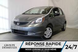 2013 Honda Fit DX * MANUELLE * ÉCONOMIQUE *  - A0852  - Blainville Chrysler