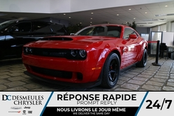 2018 Dodge Challenger SRT DEMON * 840 HP * NAV * COULEUR RARE  - DC-DEMON  - Blainville Chrysler