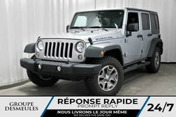 2016 Jeep Wrangler RUBICON + UNLIMITED + CUIR + GPS 4WD  - BC-P1048  - Desmeules Chrysler