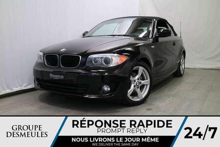 2012 BMW 1 Series DÉCAPOTABLE * AUTOMATIQUE * HARMAN KARDO for Sale  - DC-A0843  - Desmeules Chrysler