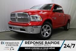 2017 Ram 1500 LARAMIE * SIÈGES CHAUFFANTS ET VENTILLÉS  - DC-A0898  - Desmeules Chrysler