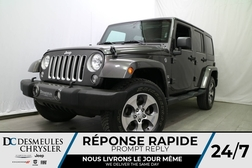 2018 Jeep Wrangler SAHARA * UNLIMITED * 4X4 * NAVIGATION *  - DC-A0895  - Desmeules Chrysler