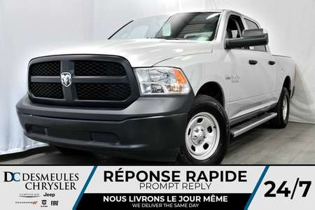 2017 Ram 1500 TRADESMAN + 4X4 + CREW CAB + BOÎTE 6'4 + for Sale  - DC-DE70586  - Blainville Chrysler