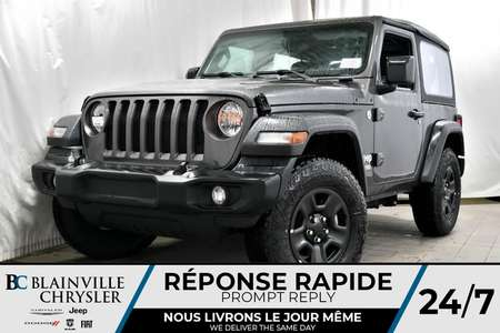 2018 Jeep Wrangler Sport for Sale  - 80278  - Blainville Chrysler