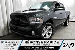 2018 Ram 1500 SPORT + CREW CAB + V8 5.7L HEMI + NAV + BLUETOOTH  - 80276  - Desmeules Chrysler
