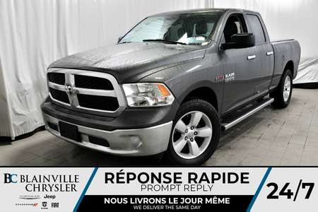 2014 Ram 1500 SLT + QUAD CAB + V6 ECODIESEL 4WD for Sale  - BC-P1043  - Desmeules Chrysler