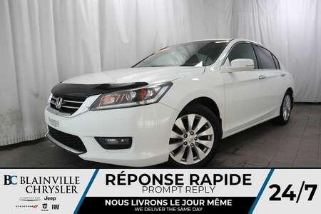 2014 Honda Accord EX-L+CAM RECUL+TOIT+SIÈGES CH for Sale  - BC-P1071  - Blainville Chrysler
