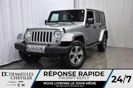 2018 Jeep Wrangler SAHARA * 4X4 * DÉMARREUR À DIST * NAV for Sale  - DC-A0893  - Blainville Chrysler