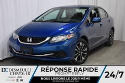 2015 Honda Civic EX * CAMÉRA DE RECUL & ANGLE MORT * TOIT OUVR.  - DC-A0933  - Blainville Chrysler