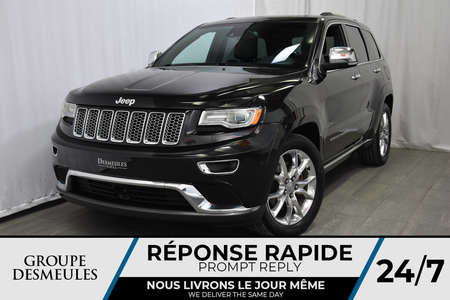 2015 Jeep Grand Cherokee * SUMMIT * 4X4 * V8 5.7L * 4WD for Sale  - DC-A0924  - Blainville Chrysler