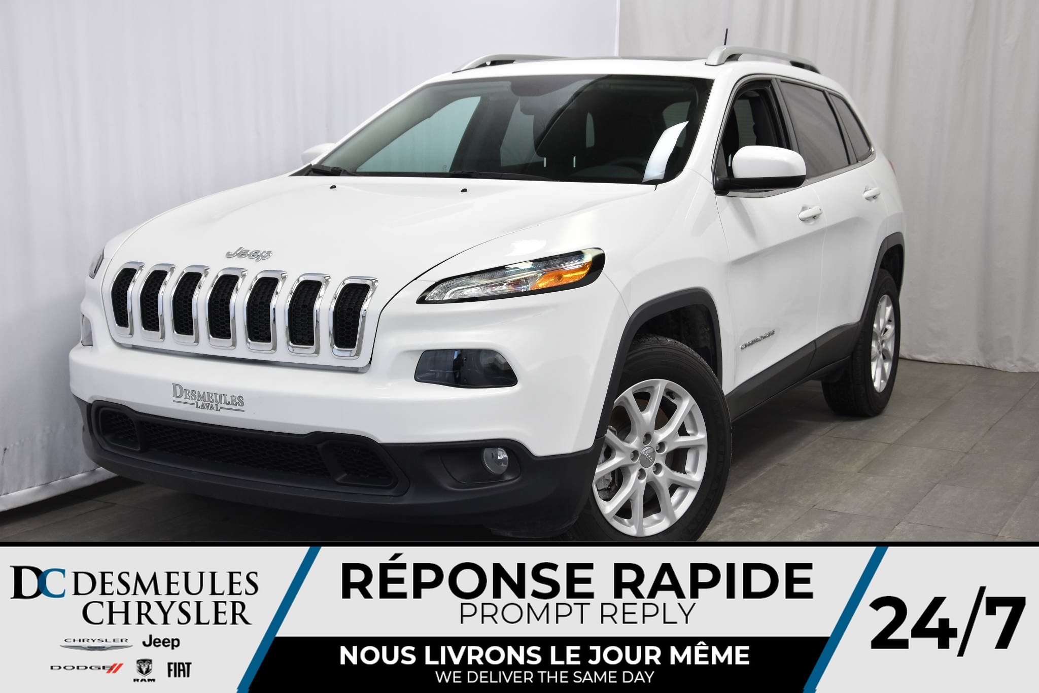2018 Jeep Cherokee * No