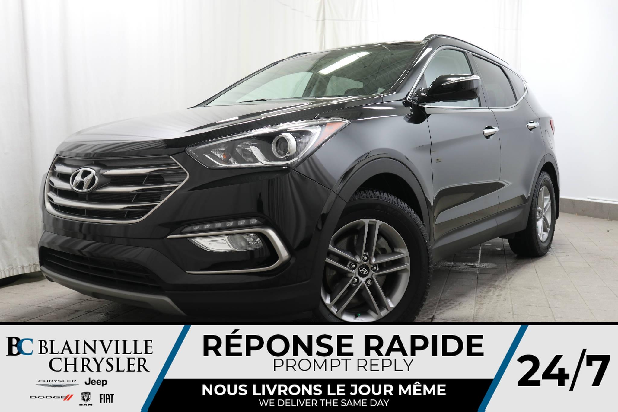 2017 Hyundai Santa Fe Sport  - Desmeules Chrysler