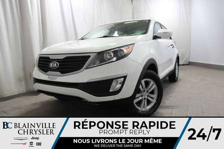 2013 Kia Sportage LX + MANUELLE + FWD + 4CYL 2WD for Sale  - BC-P1081  - Desmeules Chrysler
