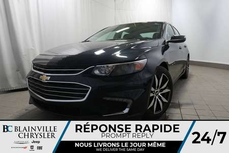 2017 Chevrolet Malibu LT + CUIR + GPS + TOIT PANO for Sale  - BC-80304B  - Desmeules Chrysler