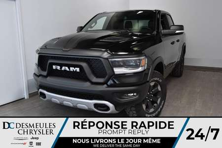 2019 Ram 1500 Rebel Quad Cab + WIFI + BLUETOOTH *151$/SEM for Sale  - DC-90626  - Desmeules Chrysler