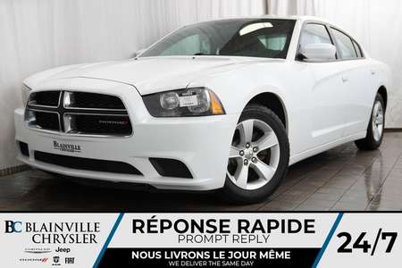 2013 Dodge Charger SE + 3.6L V6 + MAGS + CLIM  BI-ZONE + CRUISE for Sale  - BC-90006A  - Blainville Chrysler