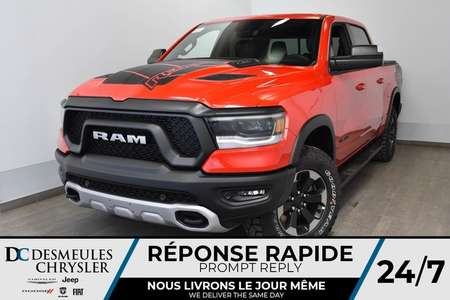 2020 Ram 1500 Rebel Crew Cab + WIFI + BLUETOOTH for Sale  - DC-20013  - Desmeules Chrysler