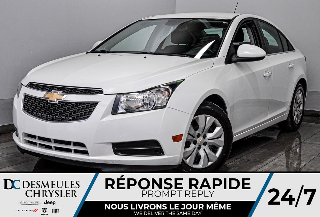 2012 Chevrolet Cruze  - Desmeules Chrysler