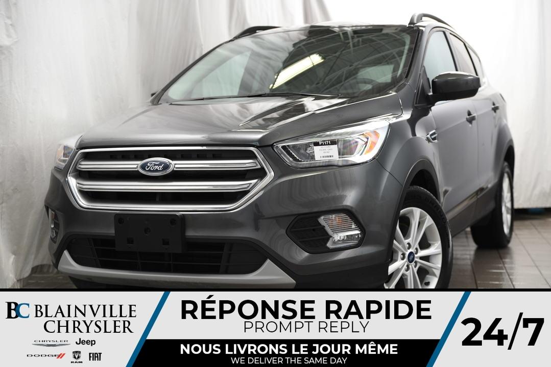 2017 Ford Escape  - Desmeules Chrysler