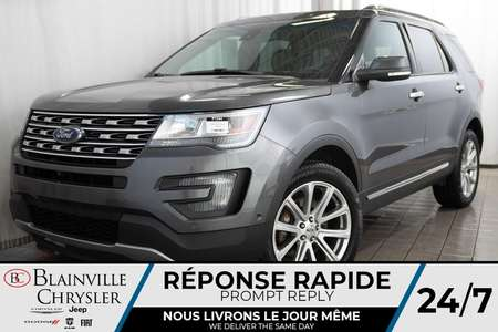 2016 Ford Explorer LIMITED + 4WD + V6 3.5L + MAGS + CUIR + BLUETOOTH for Sale  - BC-P1344  - Desmeules Chrysler