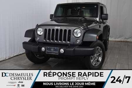 2016 Jeep Wrangler Rubicon * GPS * Dem à dist. * A/C for Sale  - DC-M1177  - Desmeules Chrysler