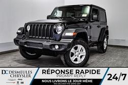 2020 Jeep Wrangler Sport S + TURBO + CAM RECUL * 115$/SEM  - DC-20110  - Desmeules Chrysler