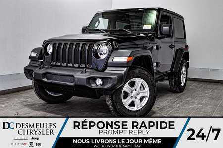 2020 Jeep Wrangler Sport S + TURBO + CAM RECUL * 115$/SEM for Sale  - DC-20110  - Desmeules Chrysler