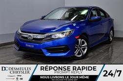 2016 Honda Civic Sedan LX *Bancs chauff *Cam de recul *75$/semaine  - DC-D1611  - Desmeules Chrysler