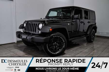 2017 Jeep Wrangler Willys Wheeler *A/C *141$/semaine for Sale  - DC-91032A  - Desmeules Chrysler