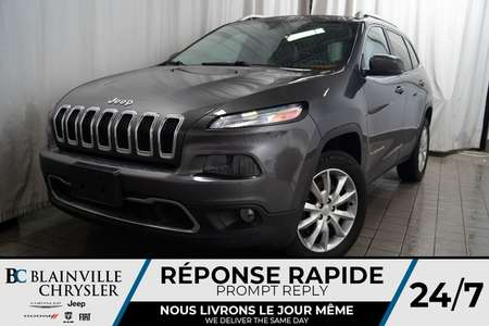 2014 Jeep Cherokee LIMITED * 4X4 * CUIR * MAGS * BLUETOOTH for Sale  - BC-P1387  - Desmeules Chrysler