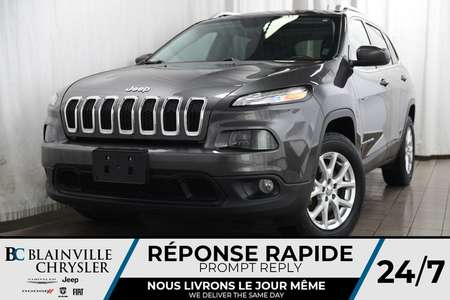 2016 Jeep Cherokee 72$/SEM + LATITUDE + V6 3.6L + 4X4 + TOIT PANO for Sale  - BC-P1141A  - Desmeules Chrysler