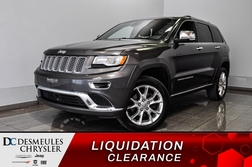 2015 Jeep Grand Cherokee Summit *diesel* *Bancs chaff *GPS *A/C *Mode ECO  - DC-90940A  - Desmeules Chrysler