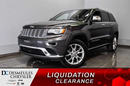 2015 Jeep Grand Cherokee Summit *Bancs chaff *GPS *A/C *Mode ECO for Sale  - DC-90940A  - Desmeules Chrysler