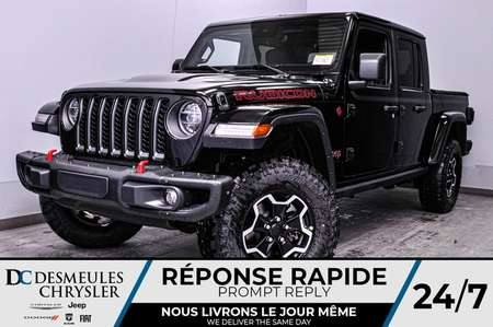 2020 Jeep Gladiator Rubicon + UCONNECT + BANCS CHAUFF *193$/SEM for Sale  - DC-20144  - Blainville Chrysler