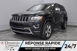 2015 Jeep Grand Cherokee Limited + bancs et volant chauff + uconnect + cam  - DC-20454A  - Desmeules Chrysler
