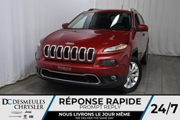 2016 Jeep Cherokee Limited * NAV * Cam Rec * Sièges Chauff / Vent  - DC-A1290  - Desmeules Chrysler